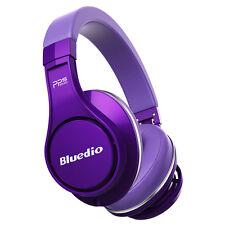 Bluedio U Bluetooth Kopfhörer Wireless Headphone Over-Ear 3D Effekt Lila