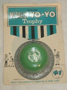 RARE! 1960's Medalist Trophy Professional Boston Celtics  Yo-Yo by Strombeck