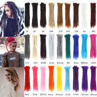 20'' Afro Dreadlocks Crochet Braiding Hair Extensions Synthetic Faux Locs Dreads