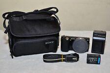 Sony Alpha NEX-5 14.2MP Digital Camera (Black) Body Only+ NEW Bag + Accessories!