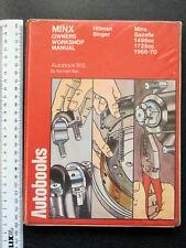 Hillman New Minx 1966-70 Autobook (Hardback, 1970)