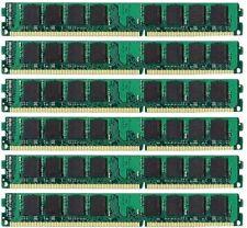 NEW 24GB (6x4GB) Memory PC3-12800 LONGDIMM For Dell Precision T3500 DDR3-1600MHz