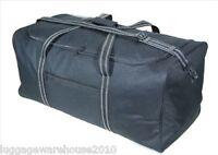 "Large 30""/75cm 100 Litres Lightweight Black Sports Holdall Travel Cargo Bag"