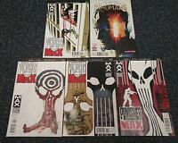 2011 Punisher Max Comic Lot #11,12,13,14, 2016 The Uncanny Humans #005