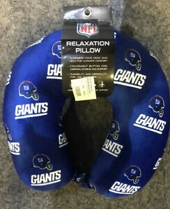 New York Giants Pegasus Relaxation Travel Neck Soft Pillow TSA Approved