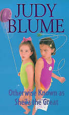 Blume, Judy, Otherwise Known As Sheila The Great (Fudge), Very Good Book
