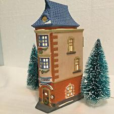 Vintage Dept.56 Christmas In The City Series City Clockworks 5531-0