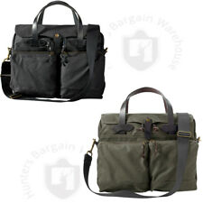 Filson 11070140, 24-Hour Tin Briefcase Black or Otter Green Made In The USA