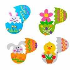 Children Easter Party Decor Diy Crafts Easters Egg Kids Toys Handmade Gifts 4pcs