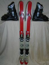KIDS YOUTH DYNASTAR 120cm SKI, LOOK BINDING, ROSSIGNOL US 4.5 BOOT FREE SHIP
