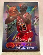 1994-1995 Topps Finest Refractor Michael Jordan With Coating #331
