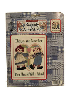Classic Raggedy Ann & Andy Things Are Sweeter Counted Cross Stitch Kit 77-106