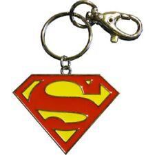 Superman Logo Rouge Porte-Clés - Artwork Qualité Premium Porte-Clés Avec Pince