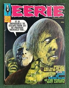 Eerie #20 Warren Pub Silver Age Monster mag creepy horror scary vg/f