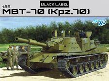 MBT-70 (Kpz.70) HEAVY TANK DRAGON (Black label) 1/35 PLASTIC KIT