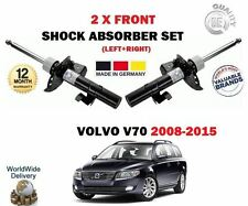 FOR VOLVO V70 D3 D4 D5 1.6D AWD 2007-2015 2X FRONT LEFT RIGHT SHOCK ABSORBER SET