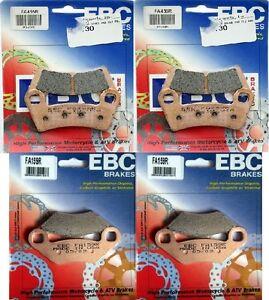 "EBC ""SV"" SEVERE DUTY Front+Rear (4 Sets) Brake Pads CAN AM Maverick X3"