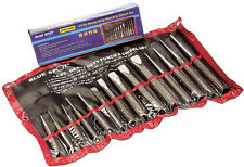 14 pc Heavy Duty Punch And Chisel Set Includes - Cold Chisels Taper Pin & Center