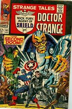 Strange Tales #161 October 1967 VG Jim Sterannko art