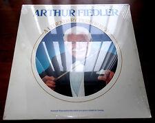 Arthur Fiedler   A Legendary Performer 1977  RCA 2064  Booklet  Vinyl LP  Sealed