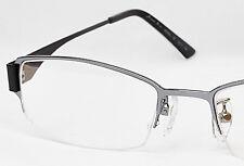 New ANDRE KIM Half Rim Eyeglass Glass Frame-Black