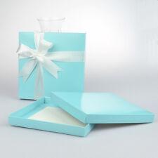 50 x Blue Square Invitation Box 165x165mm - Wedding favor boxes