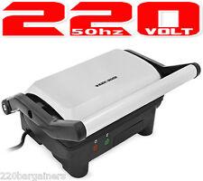 Black And Decker NEW 220v Panini Maker 220/240 Volt for Europe UK Asia Africa