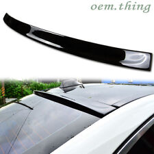 STOCK USA Painted BMW F10 5-Series Sedan 3D Type Roof Spoiler M5 550i 530d #475