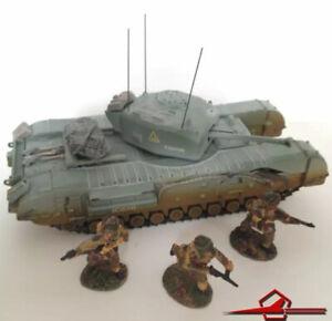 Corgi CC60109 Churchill Mk.vii Tank & 3 British Paratrooper Figures Holland 1:50