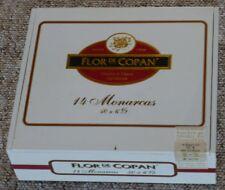 FLOR DE COPAN Zigarrenkiste gross Holz-Kasten leer alt Kästchen Zedernholz