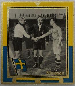 KÖNIG Fussball BILD 1938 DEUTSCHLAND - SCHWEDEN 1937 † FRITZ SZEPAN + S. NILSSON