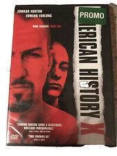 American History X (Dvd, 1999, )Promo Edward Norton New!