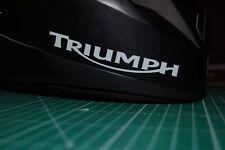 Triumph Motorrad 2 Reflektierende Aufkleber / Helmaufkleber Reflex 0019
