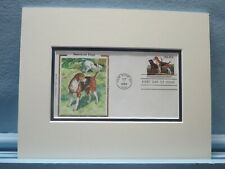 American Dogs - Black & Tan Coonhound and American Foxhound & First Day Cover