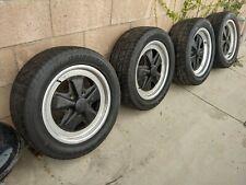 Porsche 911 Fuchs Wheel Set 16 X 6 Amp 16 X 7 Oem Plus Tires And Center Caps