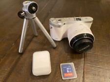 Samsung NX NX300 20.3MP Digital Camera - White + Accessories & Case w/ Strap!