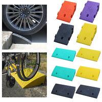 Kunststoff Curb Rampen Auto Motorrad Rollstuhl Schwelle Rampe Behinderte Zugang
