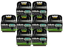 16x Gillette Body Klingen 8x 2er Set = 16er razor blades in OVP Gillete Gilete