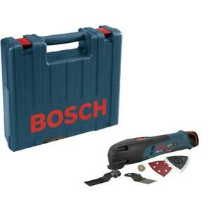 Bosch PS50 TOC 12V Max Li-Ion Cordless Oscillating Tool with Case, Tool Only