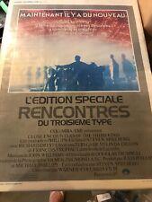1980 Close Encounters Of The Third Kind Spielberg original movie poster