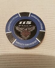 "1 originaler Harley Davidson Pokerchips ""115 Years  Factory Frankfurt  Germany"""