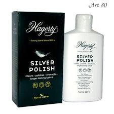 HAGERTY Silver Polish : Lotion Nettoyant Argent Massif, Métal Argenté 250 ml