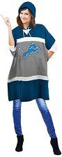 NFL Detroit Lions Hoodie Poncho