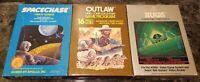 (3) Atari 2600 Boxed Game Lot CIB Lot #14