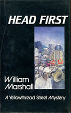 Head First  by Willaim Marshall-1st UK Edition/DJ-1986-Yellowthread Street