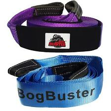 BOGBUSTER 10 METER 9T SNATCH STRAP & 12 T EQUALISER COMBO RECOVERY 4X4 OFF ROAD