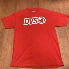 VTG 90s DVS Skate Surf Shoes Skateboard T-Shirt Large  Logo