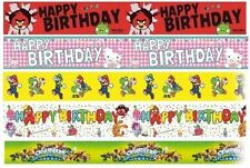 Guirlandes et bannières de fête banderoles anniversaires-enfants pour la maison