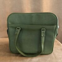 Royal Traveler vintage Samsonite bag luggage green carry on bag 13 x 12 avocado