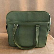 Royal Traveler vintage Samsonite bag luggage green carry on bag 13 x 12 avocado
